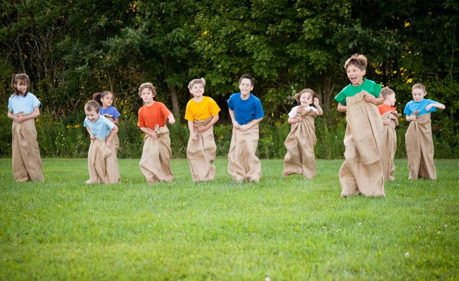 Potato sack race