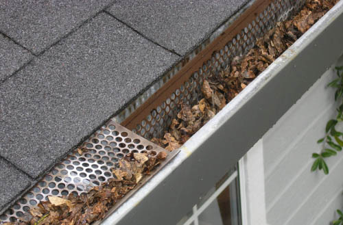 How to clean gutters from the ground?
