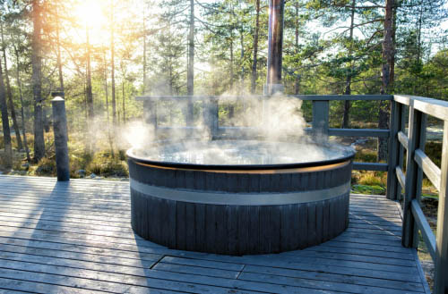 How to drain a hot tub?