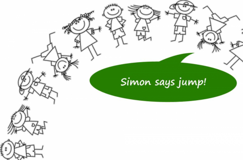 Simon says ideas