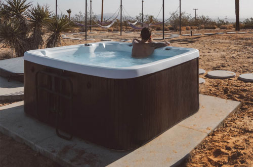 Can you run a hot tub without chemicals?