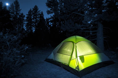 How to lock your tent?