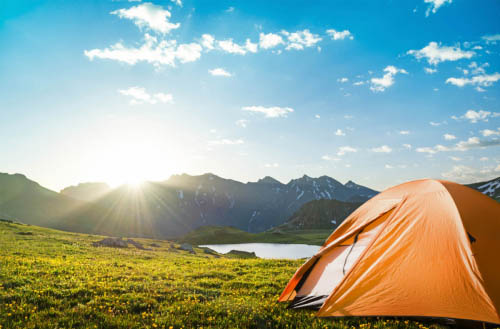 How to keep a tent cool in summer?